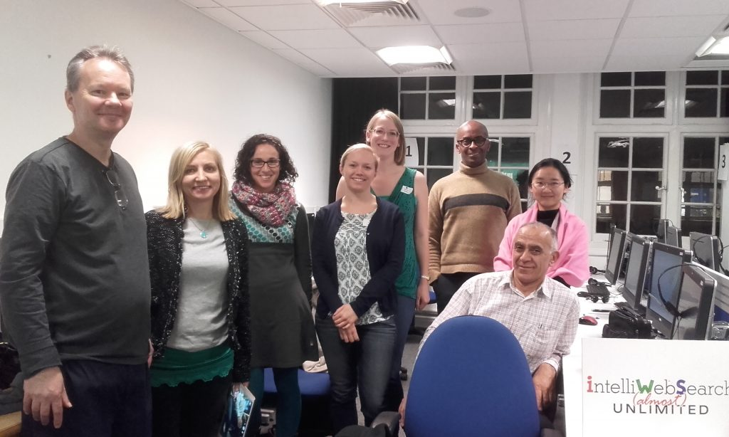 A cluster of ITI IntelliWebSearcher's at the Transcluster, UCL