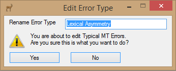 Edit Error Type (Old Model)