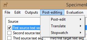 Post-Editing
