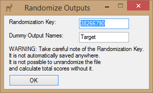 Randomization Key