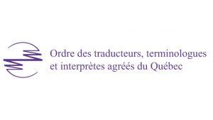 Ordre des traducteurs, terminologues et interprètes agréés du Québec